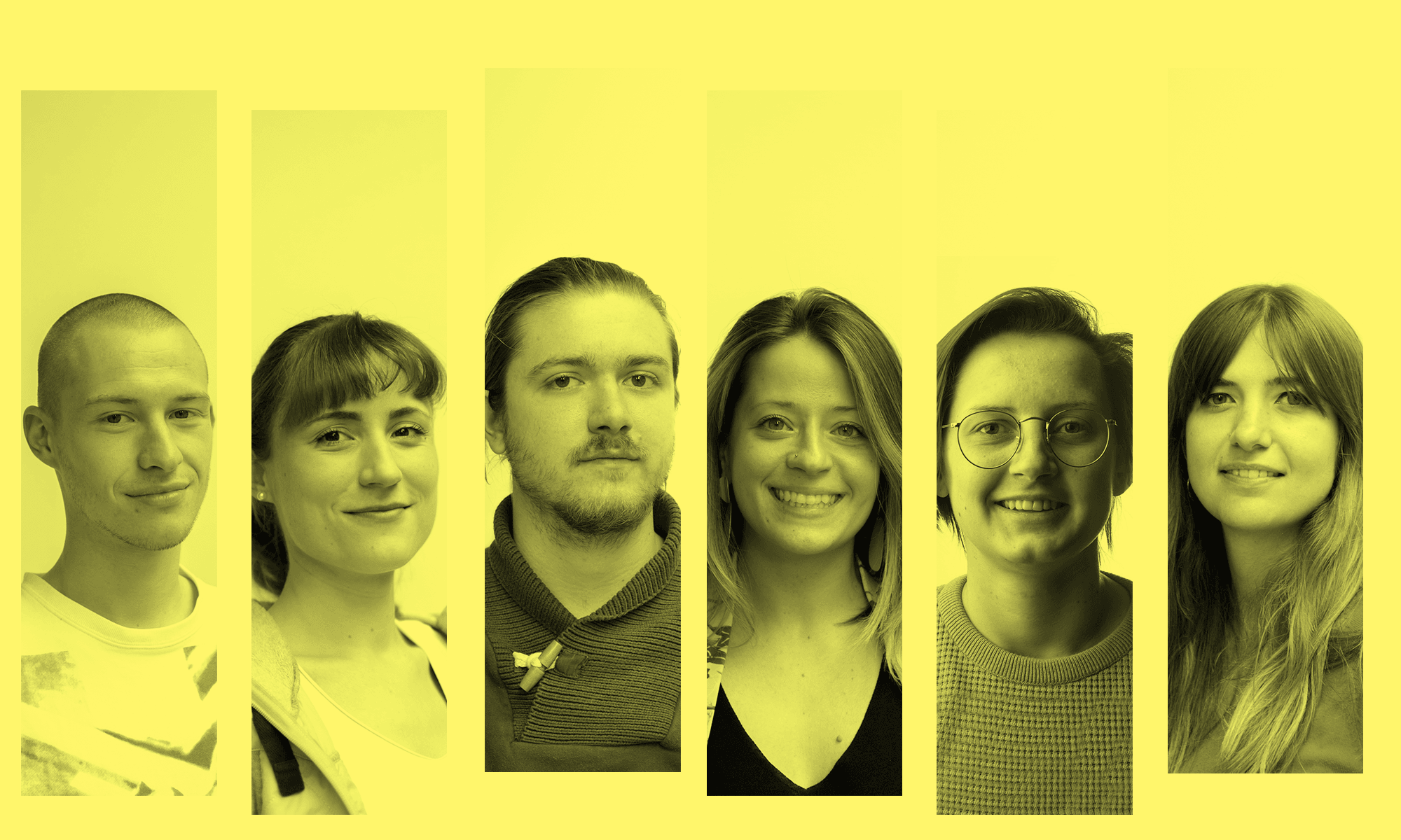 New talent at the Chase community: welcome Bavo, An, Wannes, Iva, Joke and Ana!